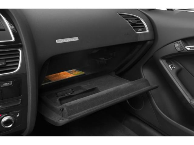 2013 Audi RS 5 Prices and Values Conv 2D RS5 AWD V8 glove box