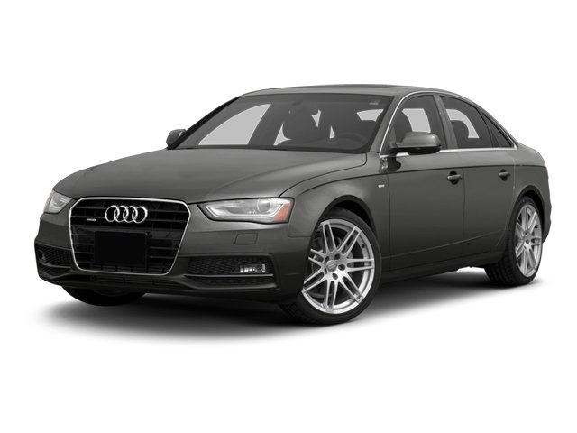 2013 Audi A4 Prices and Values Sedan 4D 2.0T Premium 2WD side front view