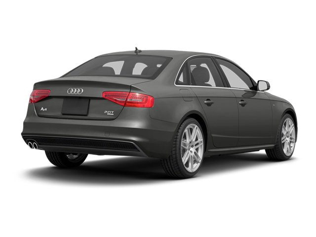 2013 Audi A4 Prices and Values Sedan 4D 2.0T Premium 2WD side rear view