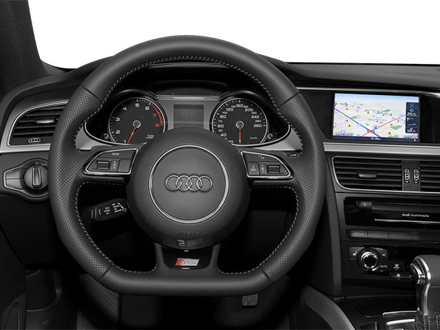 2013 Audi A4 Prices and Values Sedan 4D 2.0T Premium 2WD driver's dashboard