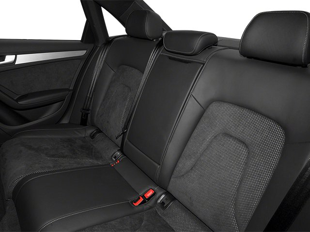 2013 Audi A4 Prices and Values Sedan 4D 2.0T Premium 2WD backseat interior