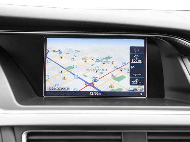2013 Audi A4 Prices and Values Sedan 4D 2.0T Premium 2WD navigation system
