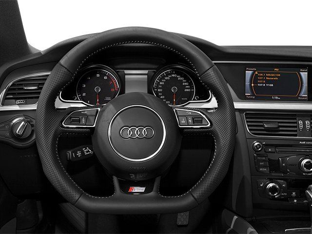 2013 Audi A5 Prices and Values Coupe 2D Premium Plus AWD driver's dashboard