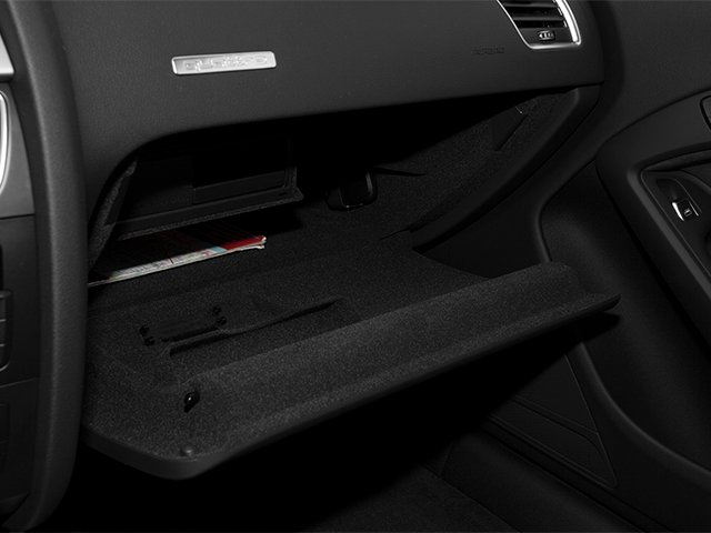2013 Audi A5 Prices and Values Coupe 2D Premium Plus AWD glove box