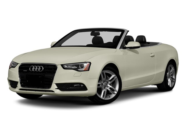 2013 Audi A5 Prices and Values Convertible 2D Premium 2WD side front view