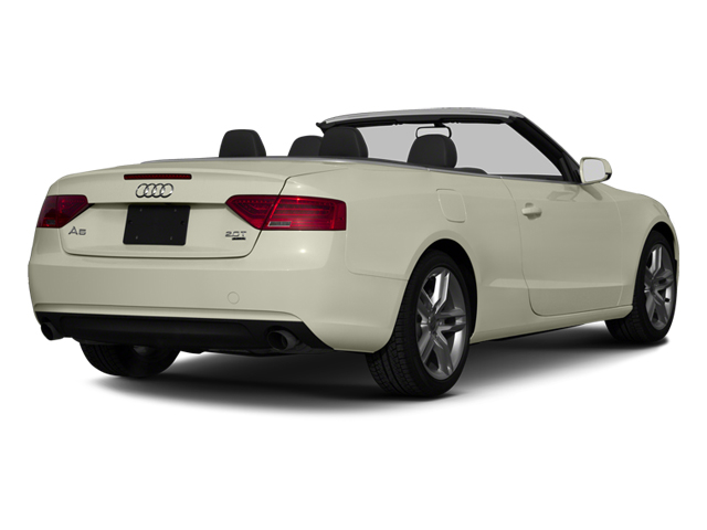 2013 Audi A5 Prices and Values Convertible 2D Premium 2WD side rear view