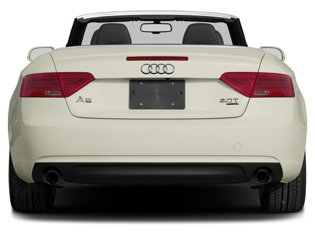 2013 Audi A5 Prices and Values Convertible 2D Premium 2WD rear view
