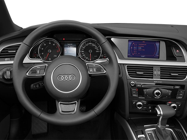 2013 Audi A5 Prices and Values Convertible 2D Premium 2WD driver's dashboard
