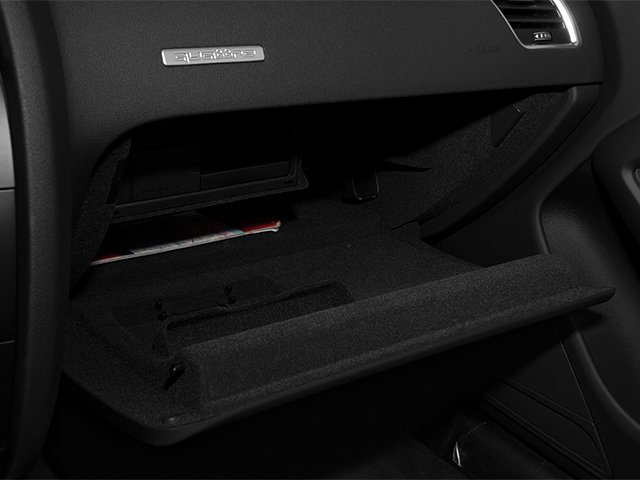 2013 Audi A5 Prices and Values Convertible 2D Premium 2WD glove box