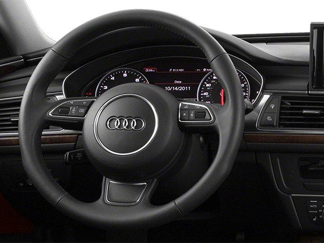 2013 Audi A6 Pictures A6 Sedan 4D 2.0T Premium 2WD photos driver's dashboard