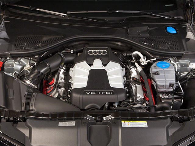 2013 Audi A6 Pictures A6 Sedan 4D 2.0T Premium 2WD photos engine