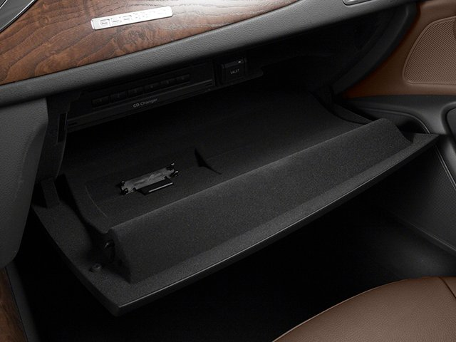 2013 Audi A6 Pictures A6 Sedan 4D 2.0T Premium 2WD photos glove box