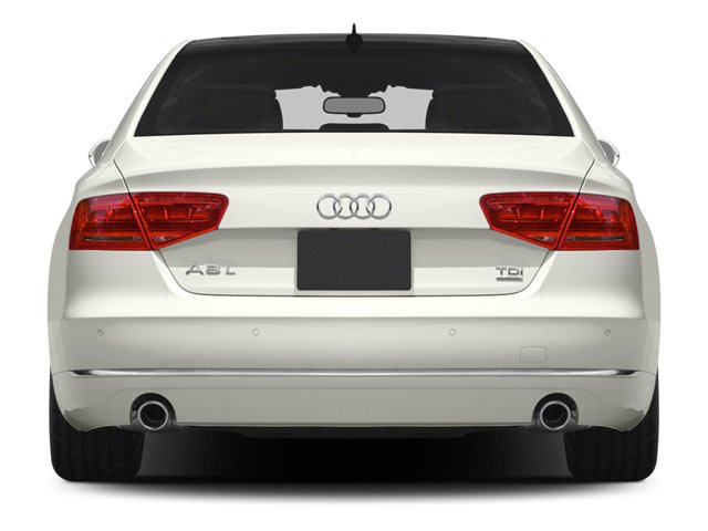 2013 Audi A8 L Prices and Values Sedan 4D 3.0T L AWD V6 Turbo rear view