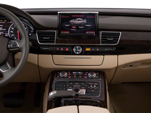 2013 Audi A8 L Pictures A8 L Sedan 4D 6.3 L AWD W12 photos center dashboard