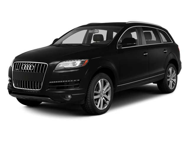 2013 Audi Q7 Prices and Values Utility 4D 3.0 Premium AWD side front view