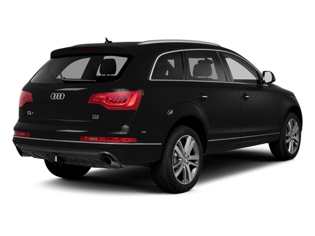 2013 Audi Q7 Prices and Values Utility 4D 3.0 TDI Prestige S-Line A side rear view