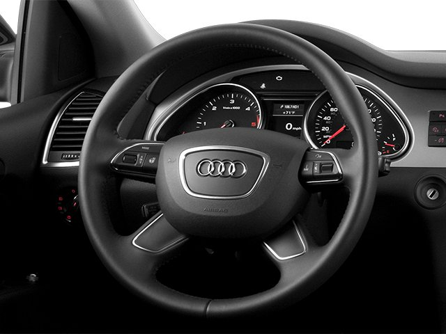 2013 Audi Q7 Prices and Values Utility 4D 3.0 Premium AWD driver's dashboard