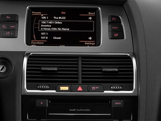 2013 Audi Q7 Prices and Values Utility 4D 3.0 TDI Prestige S-Line A stereo system