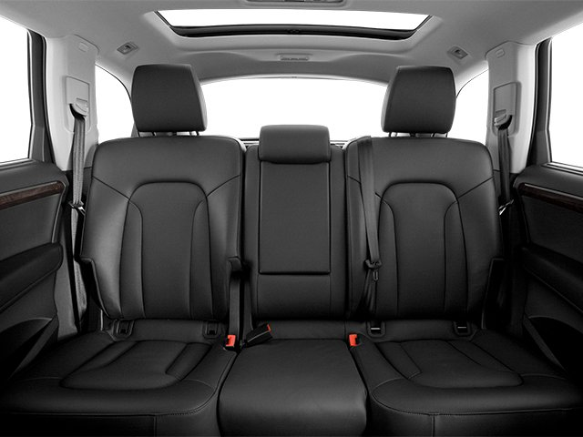 2013 Audi Q7 Prices and Values Utility 4D 3.0 Premium AWD backseat interior