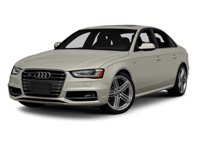 2013 Audi S4 Prices and Values Sedan 4D S4 Premium Plus AWD side front view