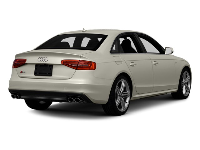 2013 Audi S4 Prices and Values Sedan 4D S4 Premium Plus AWD side rear view
