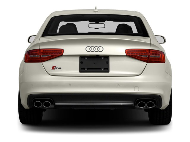 2013 Audi S4 Prices and Values Sedan 4D S4 Premium Plus AWD rear view