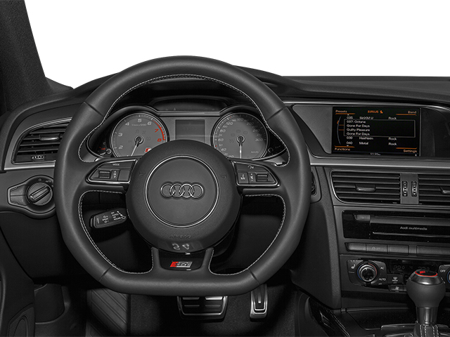 2013 Audi S4 Prices and Values Sedan 4D S4 Premium Plus AWD driver's dashboard