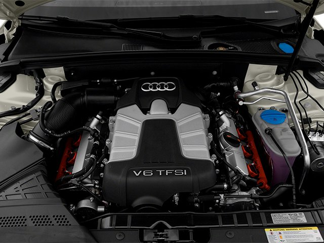 2013 Audi S4 Pictures S4 Sedan 4D S4 Prestige AWD photos engine