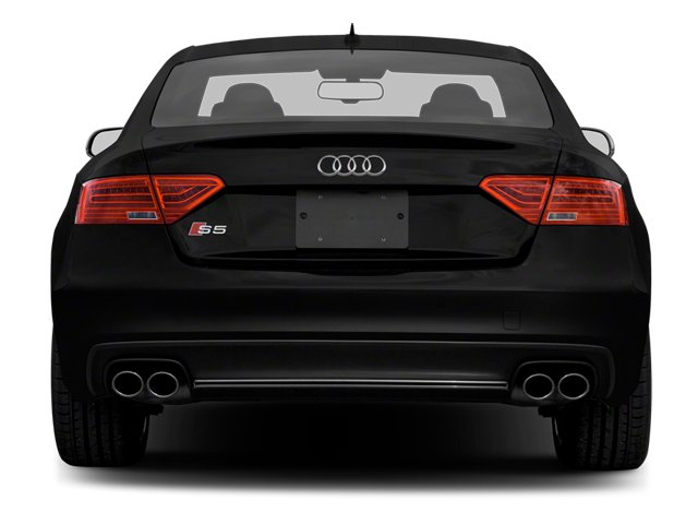 2013 Audi S5 Prices and Values Coupe 2D S5 Prestige AWD rear view