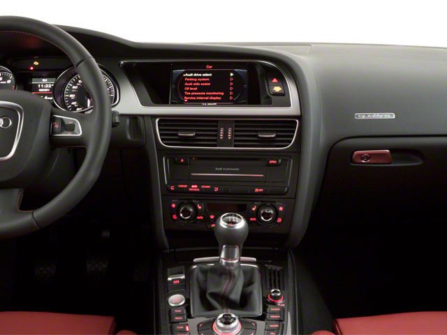 2013 Audi S5 Prices and Values Coupe 2D S5 Premium Plus AWD center dashboard