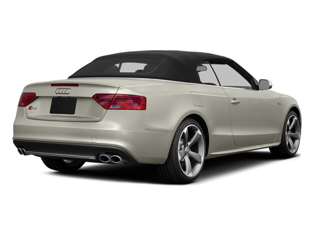 2013 Audi S5 Prices and Values Convertible 2D S5 Premium Plus AWD side rear view