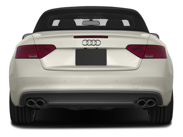 2013 Audi S5 Prices and Values Convertible 2D S5 Premium Plus AWD rear view