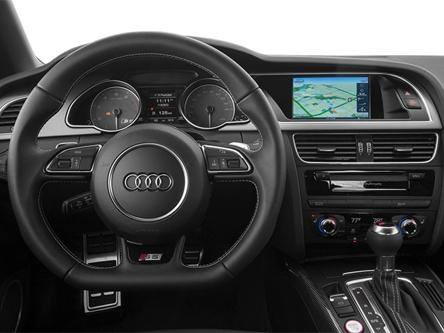 2013 Audi S5 Prices and Values Convertible 2D S5 Premium Plus AWD driver's dashboard