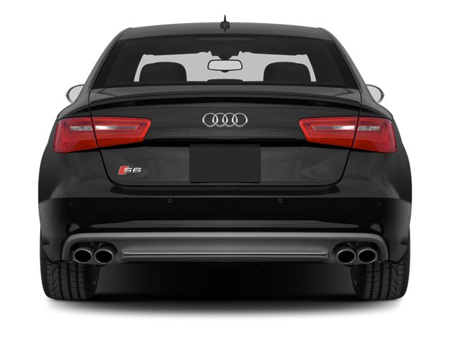 2013 Audi S6 Prices and Values Sedan 4D S6 Prestige AWD rear view