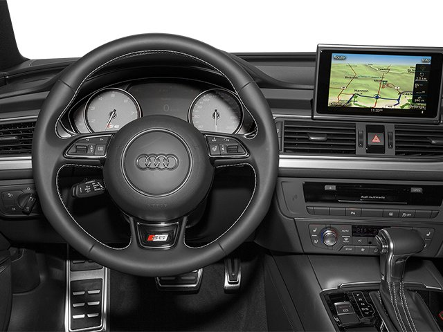 2013 Audi S6 Prices and Values Sedan 4D S6 Prestige AWD driver's dashboard