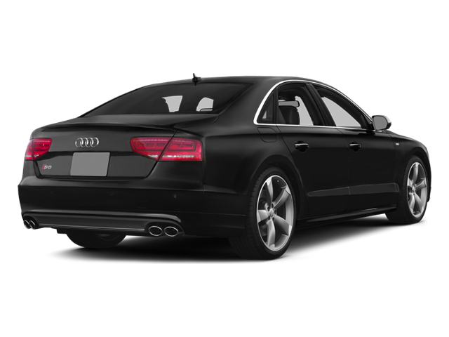 2013 Audi S8 Prices and Values Sedan 4D S8 AWD side rear view