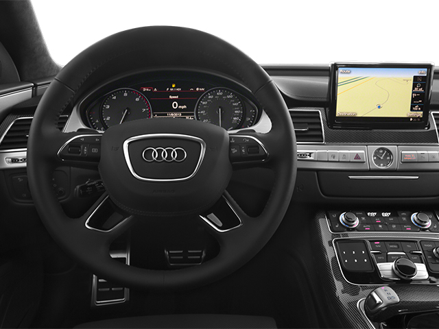 2013 Audi S8 Prices and Values Sedan 4D S8 AWD driver's dashboard
