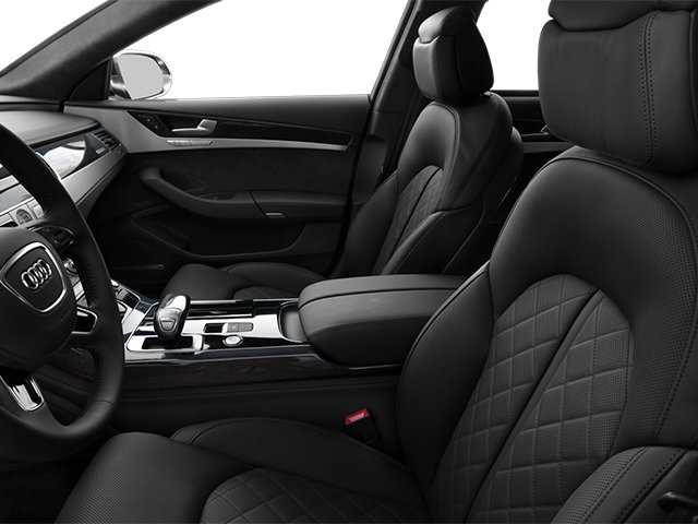 2013 Audi S8 Prices and Values Sedan 4D S8 AWD front seat interior