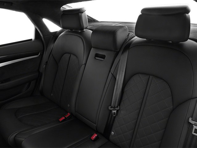 2013 Audi S8 Prices and Values Sedan 4D S8 AWD backseat interior
