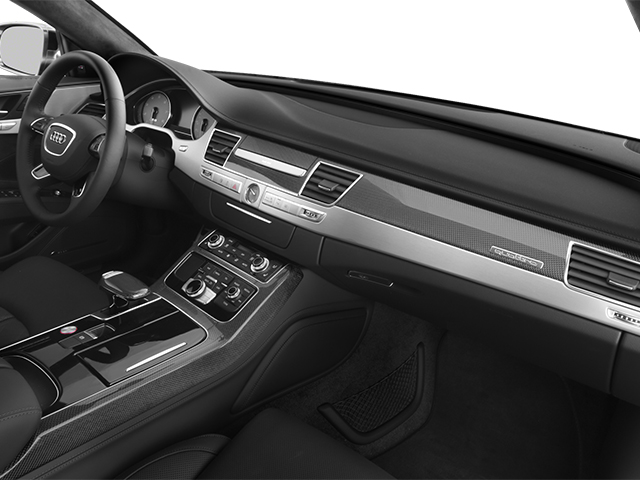 2013 Audi S8 Prices and Values Sedan 4D S8 AWD passenger's dashboard