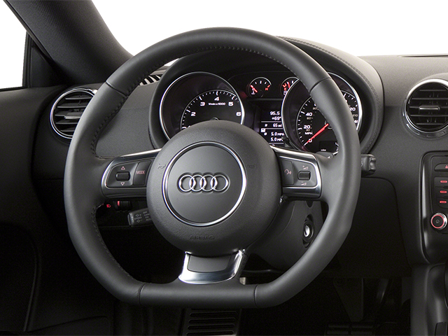 2013 Audi TT Prices and Values Coupe 2D Premium Plus AWD driver's dashboard