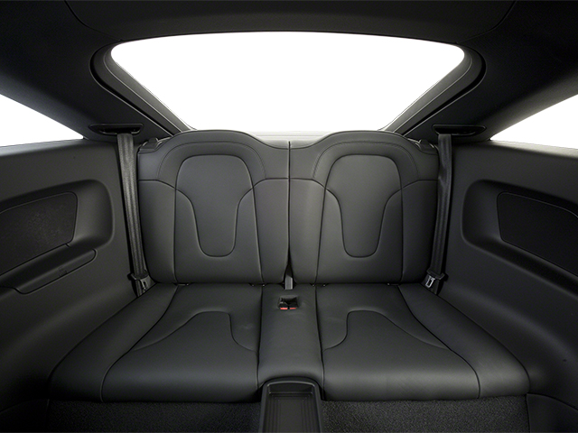2013 Audi TT Prices and Values Coupe 2D Premium Plus AWD backseat interior