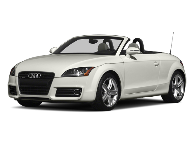 2013 Audi TTS Prices and Values Roadster 2D Prestige AWD side front view