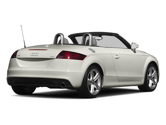 2013 Audi TT Pictures TT Roadster 2D Prestige AWD photos side rear view