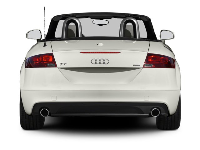 2013 Audi TTS Prices and Values Roadster 2D Prestige AWD rear view
