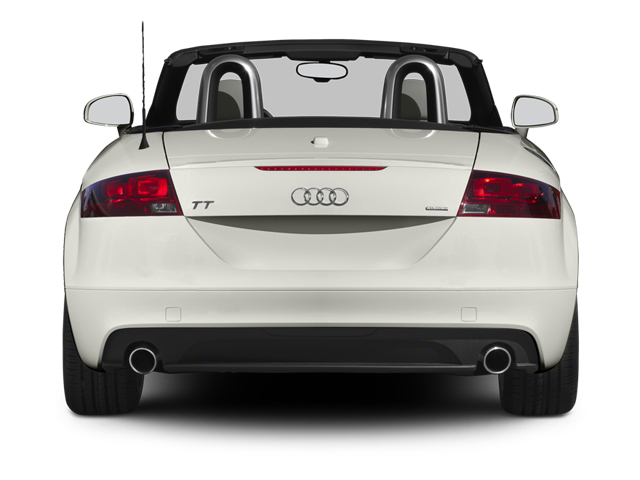 2013 Audi TT Prices and Values Roadster 2D Prestige AWD rear view