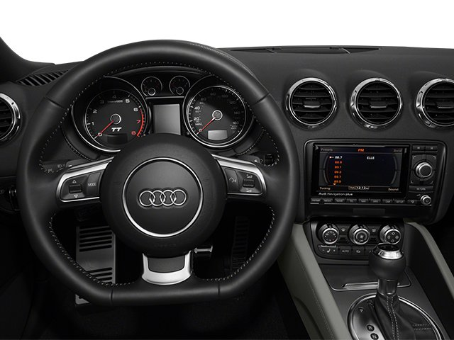 2013 Audi TT Prices and Values Roadster 2D Prestige AWD driver's dashboard