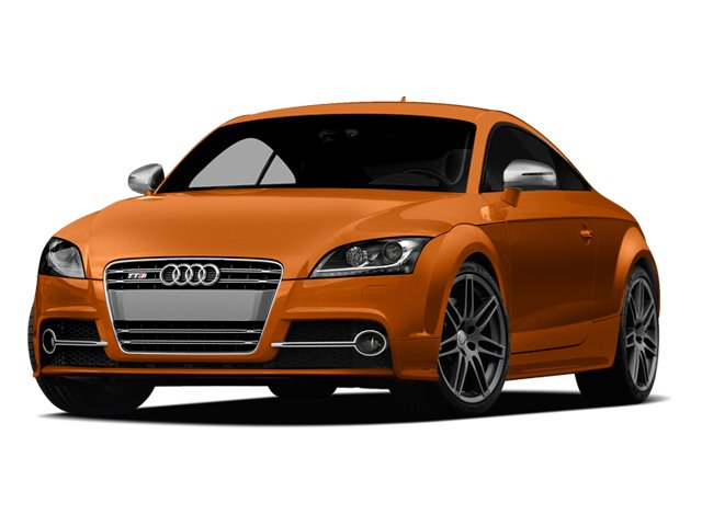2013 Audi TTS Prices and Values Coupe 2D Prestige AWD side front view