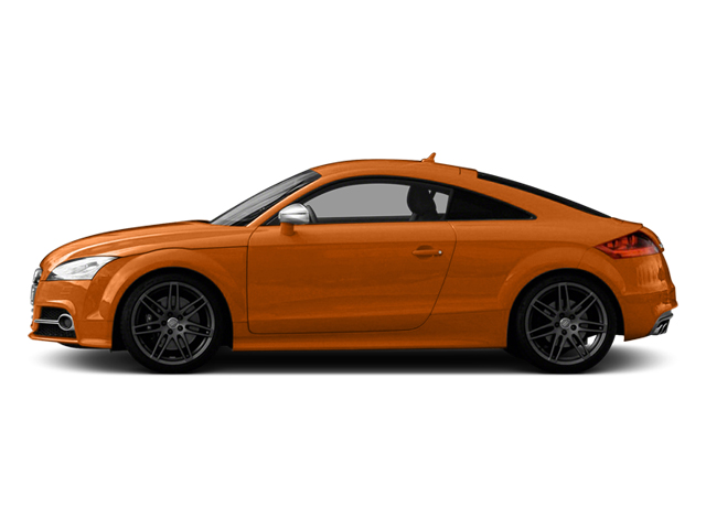 2013 Audi TTS Prices and Values Coupe 2D Prestige AWD side view