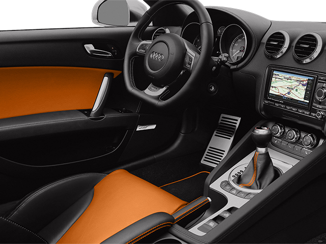 2013 Audi TTS Prices and Values Coupe 2D Prestige AWD full dashboard
